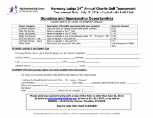 sponsor donor form 2014 image