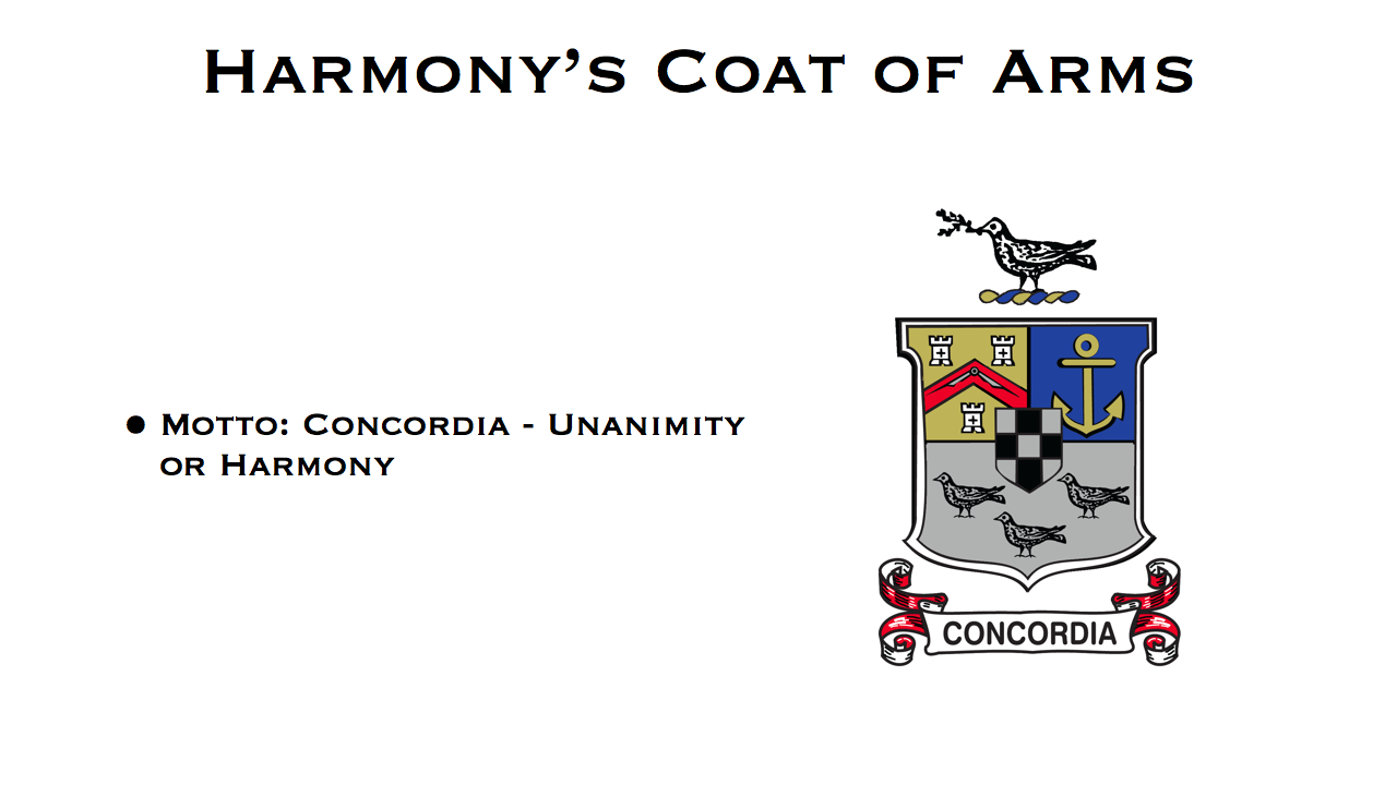 Harmony Coat of Arms