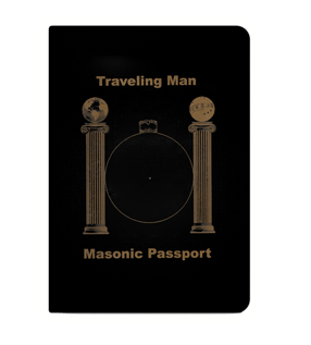 Small Masonic Passport Icon