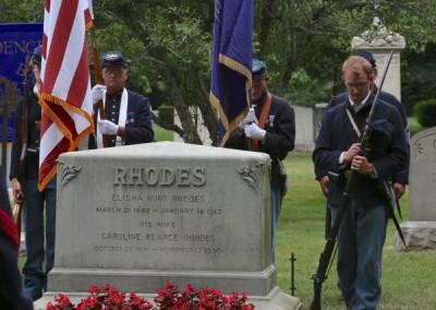 Elisha Hunt Rhodes Memorial - 001