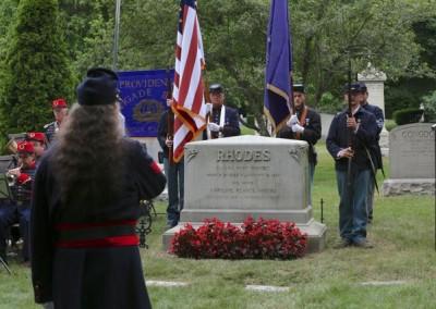 Elisha Hunt Rhodes Memorial - 002
