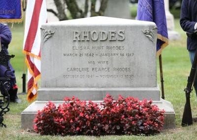 Elisha Hunt Rhodes Memorial - 009