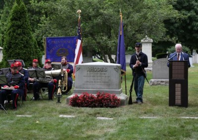 Elisha Hunt Rhodes Memorial - 023