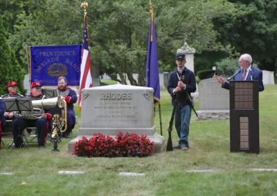 Elisha Hunt Rhodes Memorial - 025