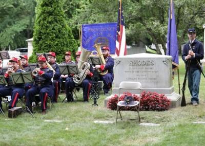 Elisha Hunt Rhodes Memorial - 033