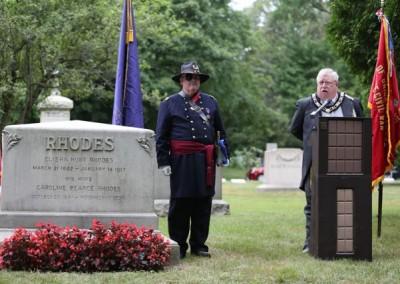 Elisha Hunt Rhodes Memorial - 060