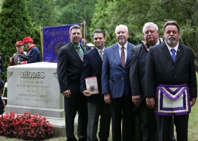 Elisha Hunt Rhodes Memorial - 098