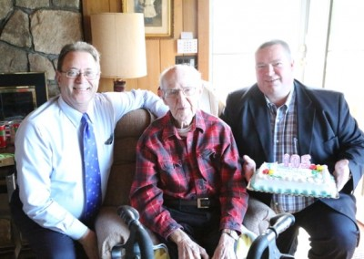 Gerry Latham 105th Birthday - 07