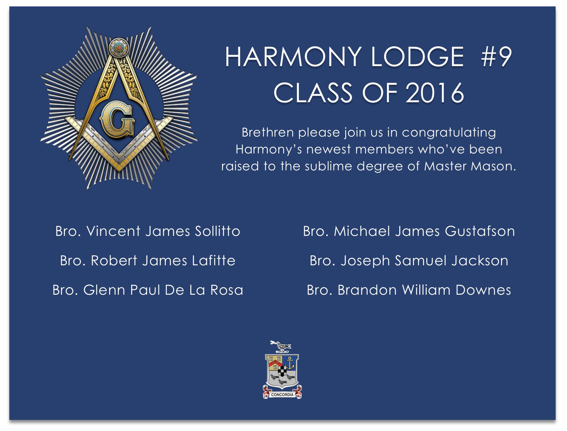 congrats class 2016