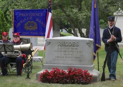 Elisha Hunt Rhodes Memorial - 006