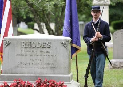 Elisha Hunt Rhodes Memorial - 010