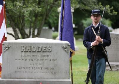 Elisha Hunt Rhodes Memorial - 016