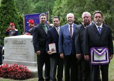 Elisha Hunt Rhodes Memorial - 097
