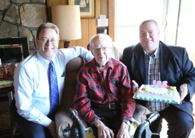 Gerry Latham 105th Birthday - 10